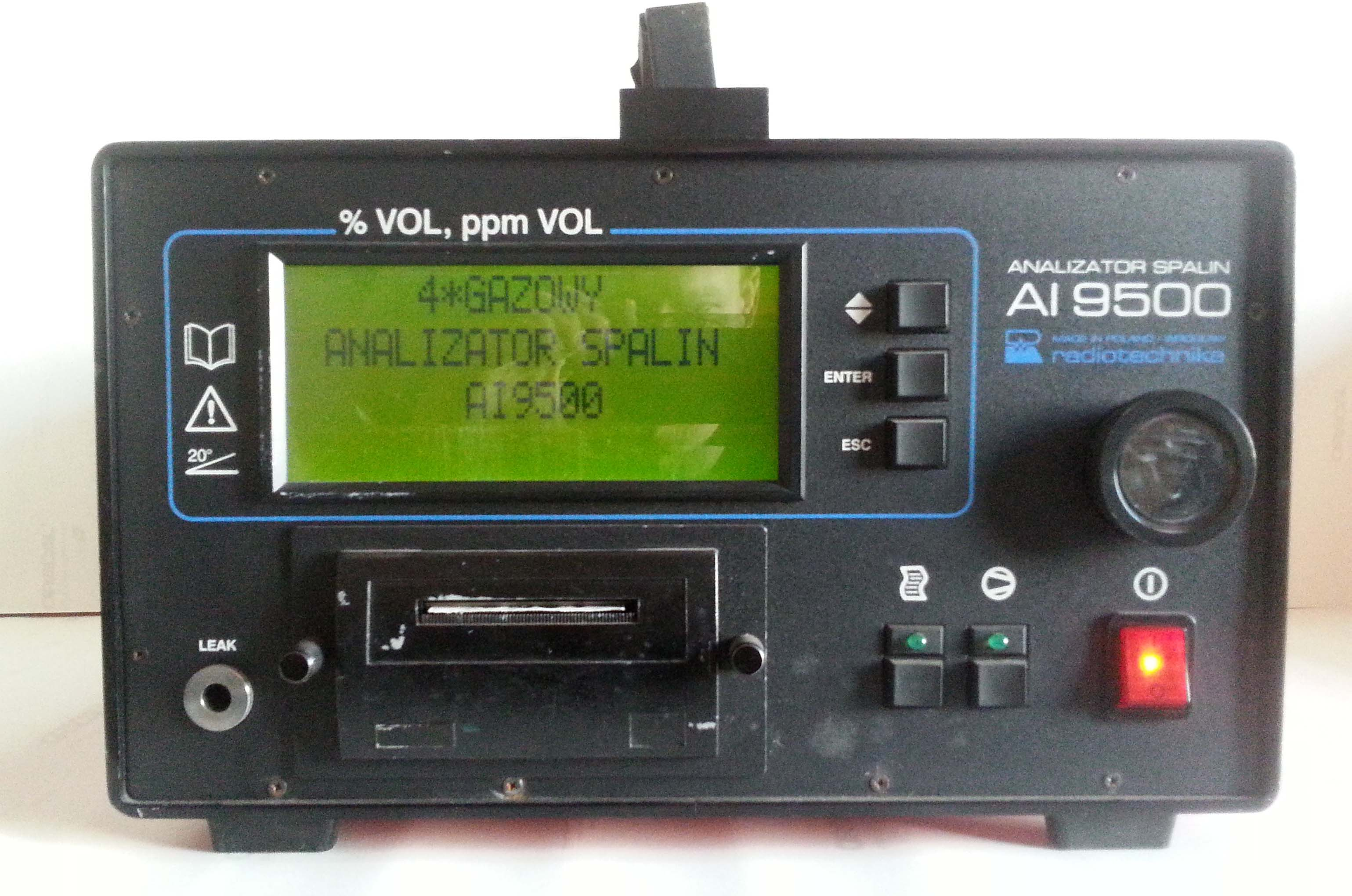 analizator spalin radiotechnika